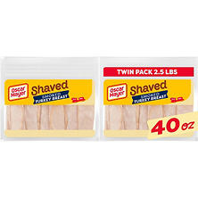 Oscar Mayer Shaved Smoked Turkey Breast (40 oz., 2 pk.)