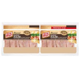 Oscar Mayer Deli Shaved Smoked Ham (40 oz., 2 pk.)