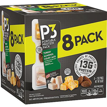 Oscar Mayer P3 Portable Protein Pack (8 pk.)