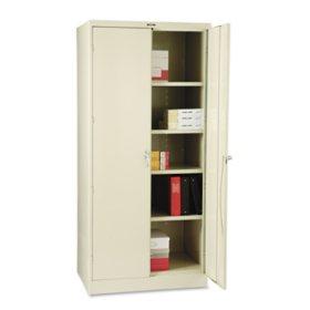 "Tennsco 78"" x 24"" Deluxe Cabinet, Select Color"