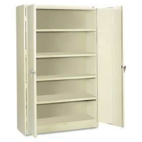 "Tennsco 78"" Jumbo Combination Steel Storage Cabinet, Select Color"