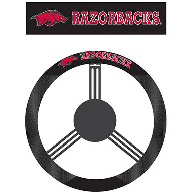 NCAA Arkansas Razorbacks Steering Wheel Cover