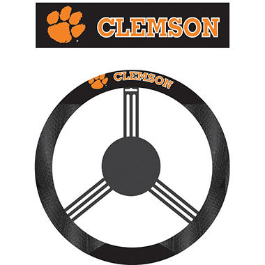 NCAA Clemson Tigers Steering Wheel Cover