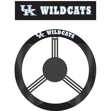 NCAA Kentucky Wildcats Steering Wheel Cover