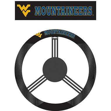 NCAA West Virginia Mountianeers Steering Wheel Cover