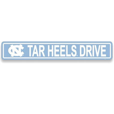 NCAA North Carolina Tarheels Street Sign