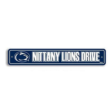 NCAA Penn State Nittany Lions Street Sign