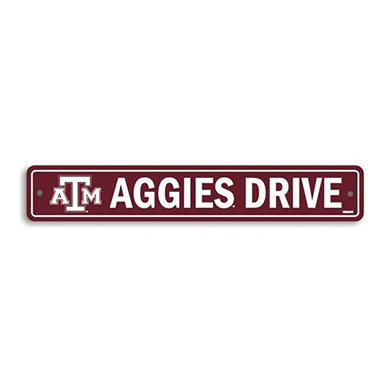 NCAA Texas A&M Aggies Street Sign