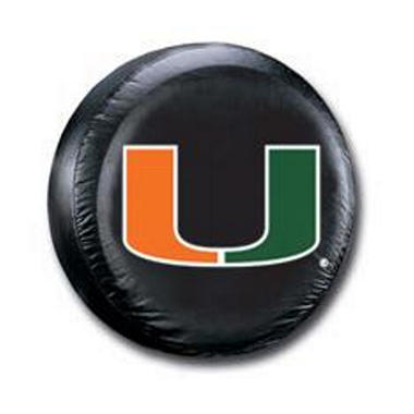 NCAA Miami Hurricanes Tire Cover