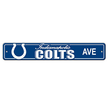 NFL Indianapolis Colts Street Sign