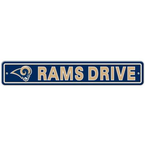 NFL St. Louis Rams Street Sign