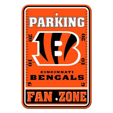 NFL Cincinnati Bengals Parking Sign