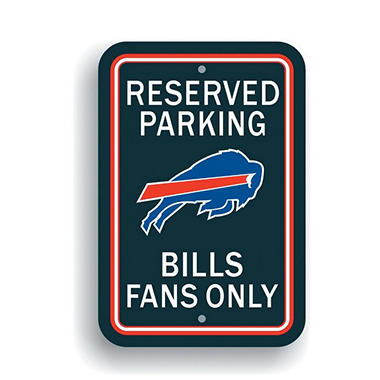 NFL Buffalo Bills Parking Sign