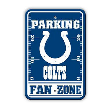 NFL Indianapolis Colts Parking Sign