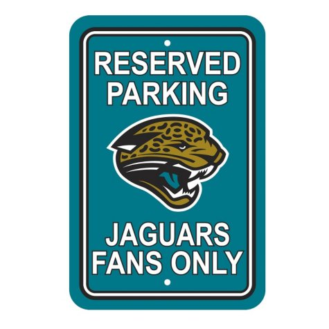 NFL Jacksonville Jaguars Parking Sign
