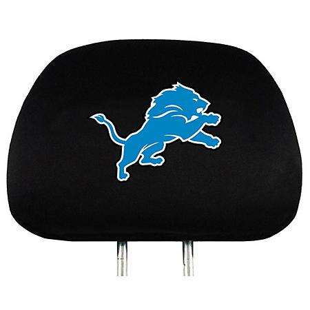 NFL Headrest Cover - Detroit Lions