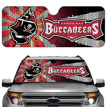 NFL Auto Sun Shade -  Tampa Bay Buccaneers (Save Now)