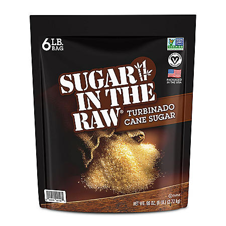 Sugar in the Raw Natural Cane Turbinado Sugar (6 lbs.)
