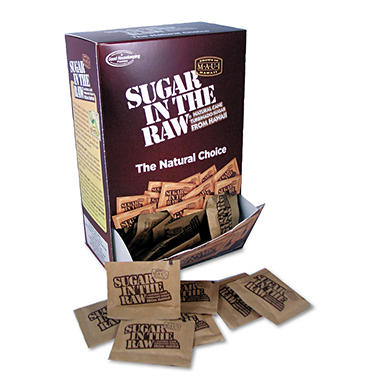 Sugar in the Raw Packets (200 ct.)