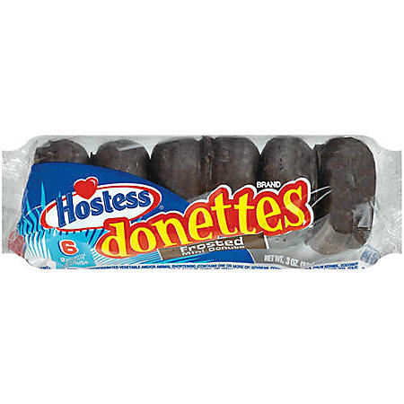 Hostess® Donettes® Chocolate Frosted - 3oz