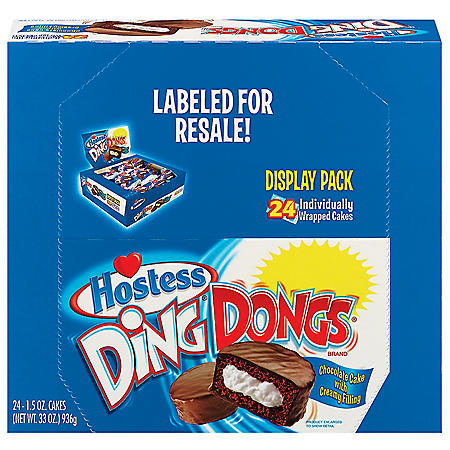Deleted - Hostess Ding Dongs (1.5oz / 24pk)