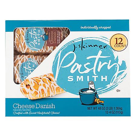 J. Skinner PastrySmith Cheese Danish (4 oz., 12 pk.)