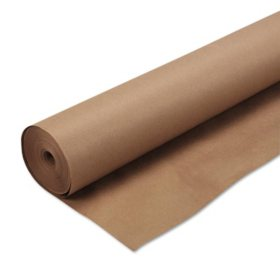 """Pacon - Kraft Wrapping Paper, 48"""" x 200 ft -  Natural"""
