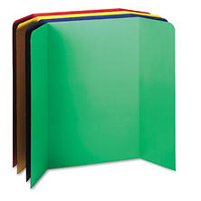 Pacon Tri-Fold Presentation Boards - 4 ct.