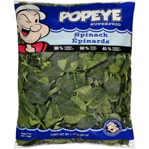 Popeye Superfood Spinach (40 oz.)
