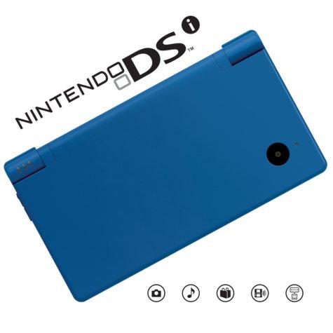 Nintendo DSi  Matte Hardware - Blue
