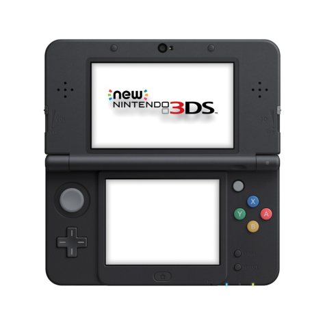 New Nintendo 3DS Super Mario Black Edition