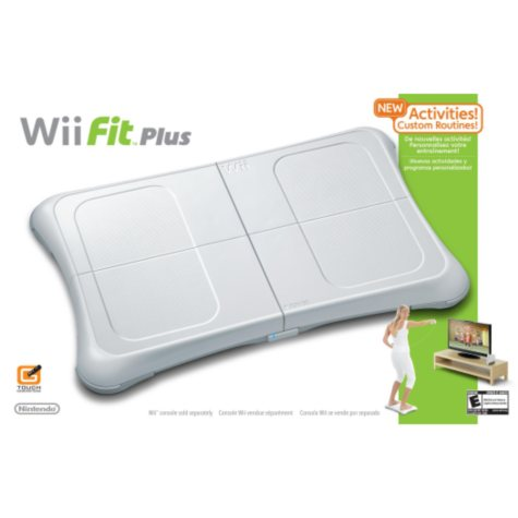 Wii Fit Plus w/ Balance Board - Wii