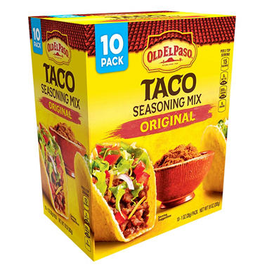 Old El Paso Original Taco Seasoning Mix (1 oz. ea., 10 pk.)