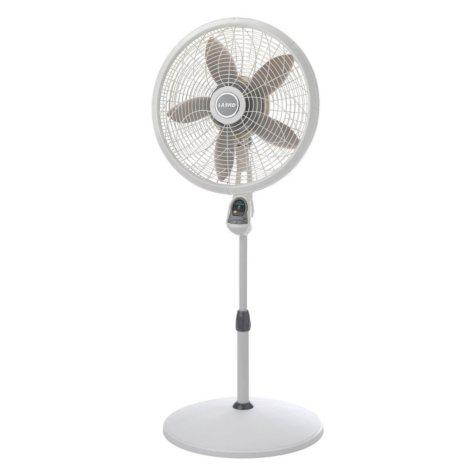 "Lasko 18"" Adjustable Elegance and Performance Pedestal Fan with Remote Control"