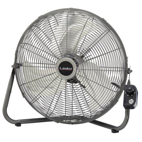 "Lasko Max Performance 20"" High Velocity Fan with Quickmount"