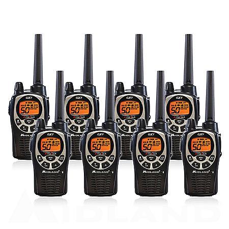 Midland 36-Mile Radios GXT1000X8VP4 (8 Pack)