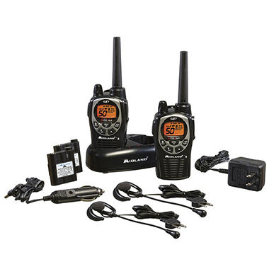Midland 36-Mile Two-Way Radio 2pk. - GXT1000VP4