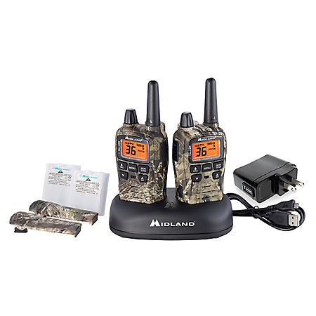 T75VP3 X-Talker Camo 38-Mile Two Way Radio Pair