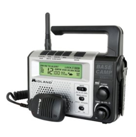 Midland Emergency Crank Base Camp Radio
