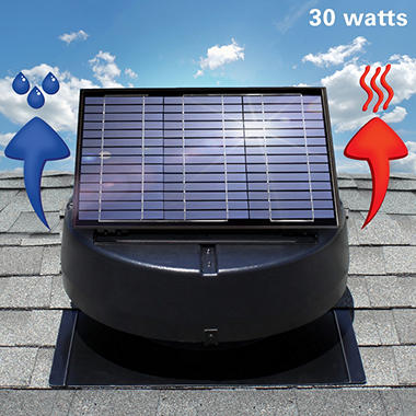 U.S. Sunlight 30-Watt Solar Attic Fan by Air Vent Inc. & U.S. Sunlight 30-Watt Solar Attic Fan by Air Vent Inc. - Samu0027s Club