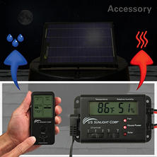 U.S. Sunlight Solar Controller for Solar Attic Fan by Air Vent, Inc.