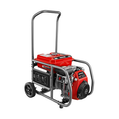 Black Max 3,000 Watt Gas Generator - Powered by Honda