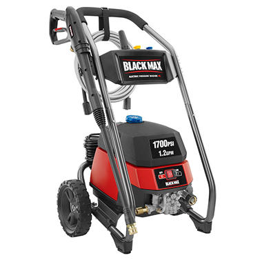 Black Max 1700 Psi Electric Pressure Washer Sam S Club