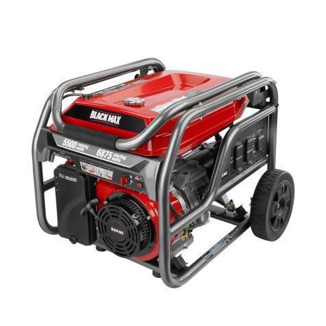 Black Max 5,500 / 6,875 Watt Portable Gas Generator