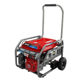 Black Max 7,500W / 9,375W Honda Powered Electric Start Bluetooth Generator with App