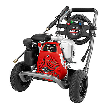 BlackMax 3000PSI Honda Pressure Washer