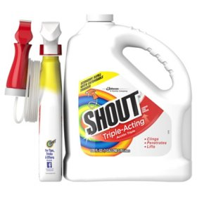 Shout Triple-Acting Liquid 1 Gallon Refill + 32 oz. Shout Trigger