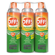 OFF! Backyard Pretreat Outdoor Fogger, 3x 16 oz.