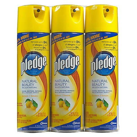 Pledge® Lemon Furniture Polish