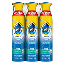 Pledge Furniture Spray, Choose Your Scent (14.2 oz., 3 pk.)